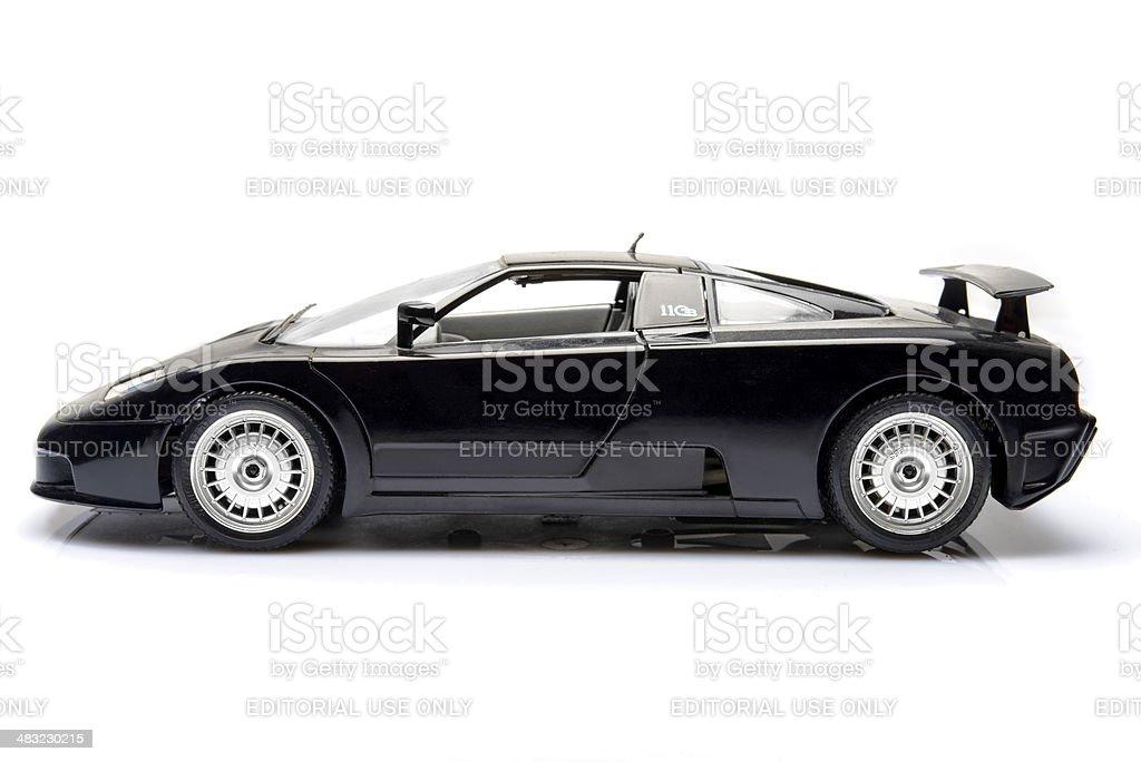 Bugatti EB110 royalty-free stock photo