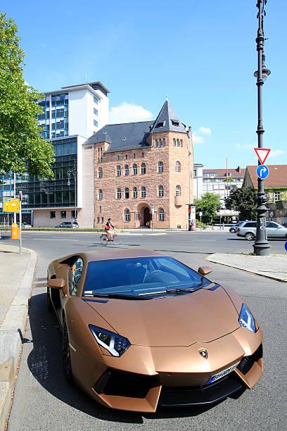 Bugatti in Berlin stock photo
