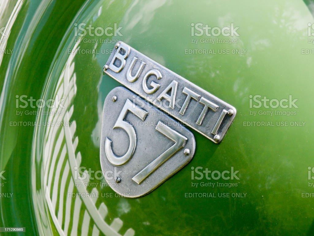 Bugatti stock photo