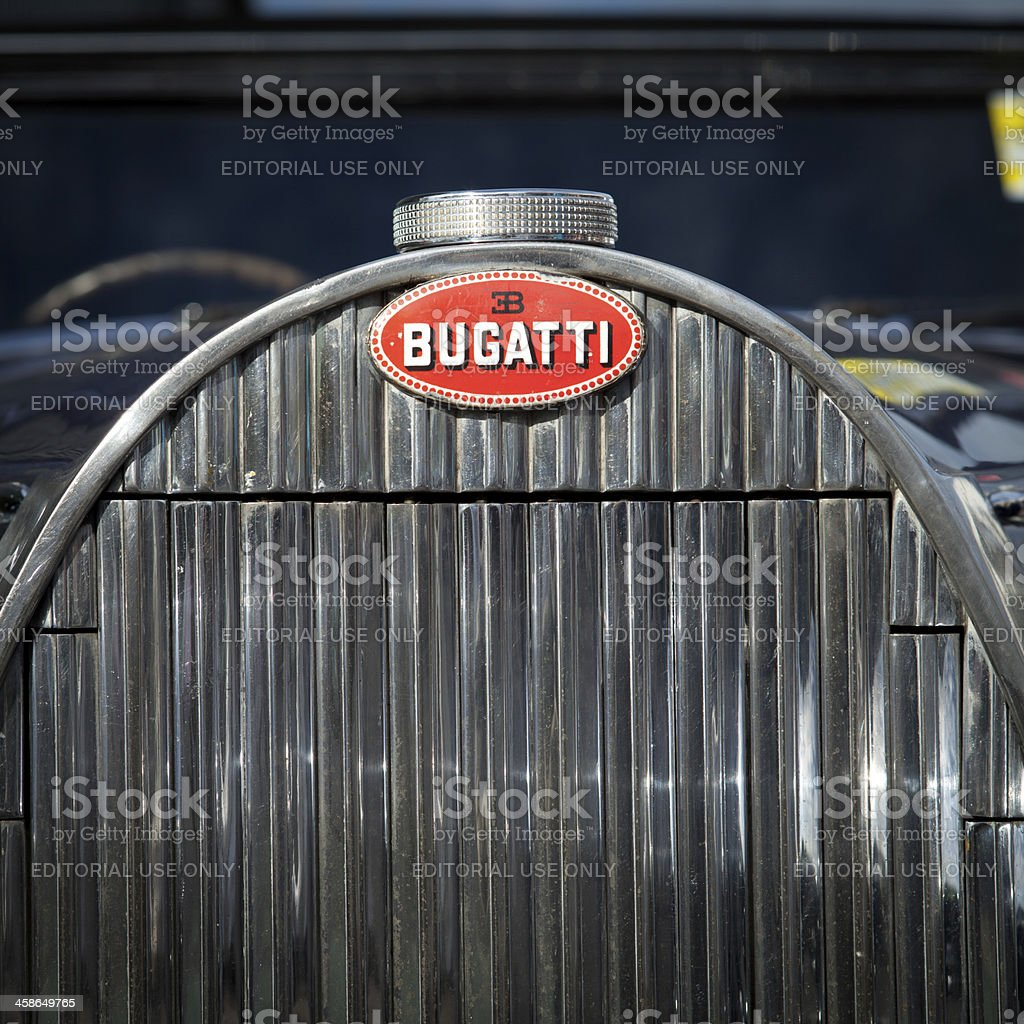 Bugatti stock photo