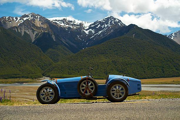 Bugatti Replica In Arthur's Pass stock photo
