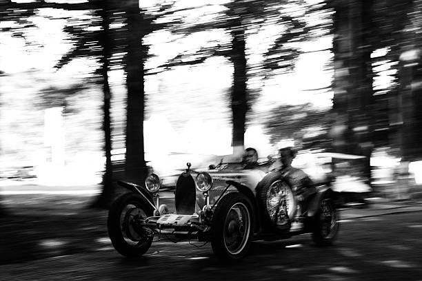 Bugatti Type 37 stock photo