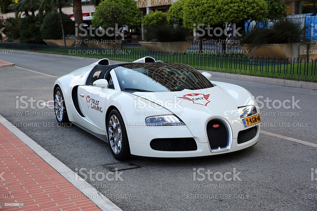 Bugatti Veyron 16.4 Grand Sport stock photo