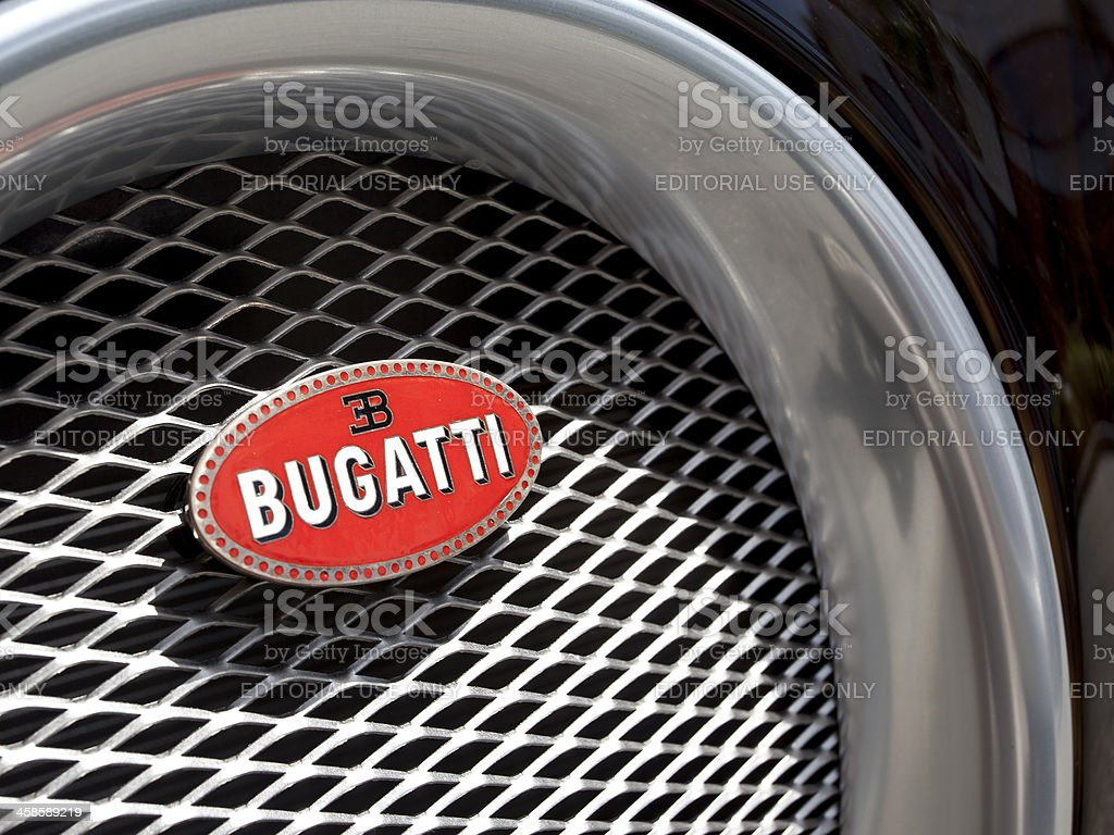 Bugatti Veyron stock photo