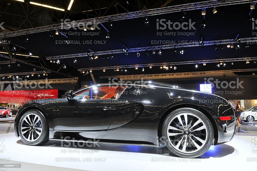 Bugatti Veyron Sang Noir stock photo