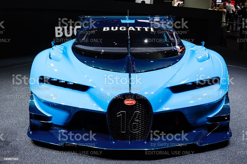 2015 Bugatti Vision Gran Turismo Concept stock photo