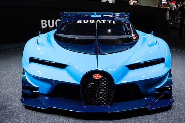 2015 Bugatti Vision Gran Turismo Concept stock photo