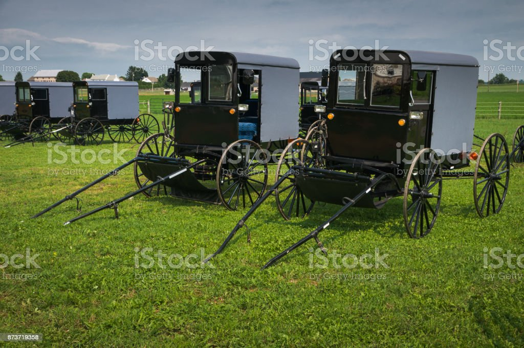 Buggy Parking stock photo