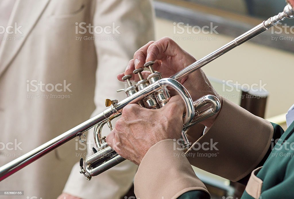 Bugle Call stock photo