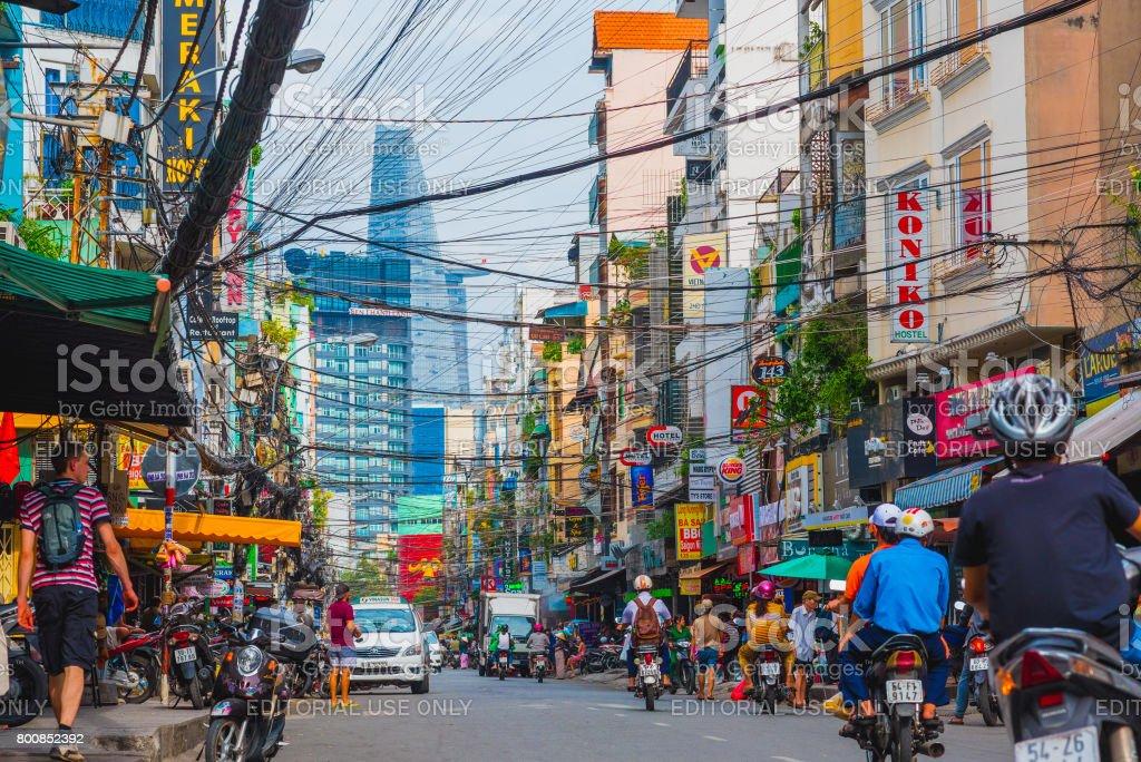 Bui Vien Street in Saigon – Foto