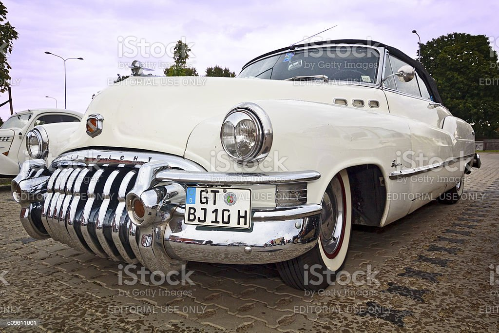 Buick Eight Super convertible stock photo