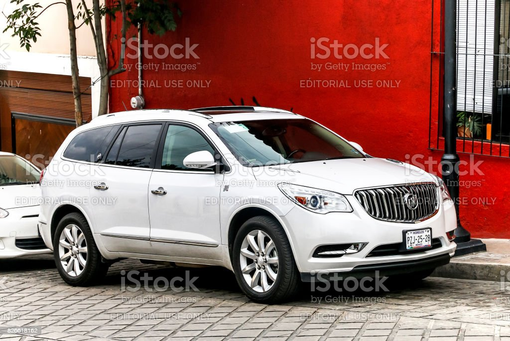 Buick Enclave stock photo