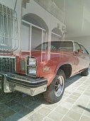 Bodrum, Turkey, September 16, 2018 : View of 1976 Buick Regal