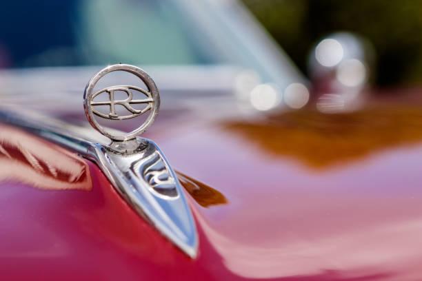 2017 年 9 月 24 日ドイツでの米国車ミーティング イベントでビュイック リビエラ旧型車 ストックフォト