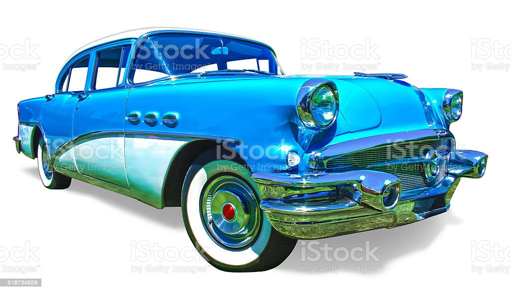 Buick Special front side view stock photo