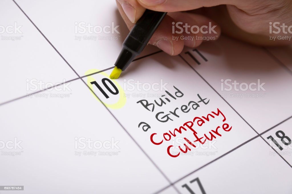 Build a Great Company Culture stock photo