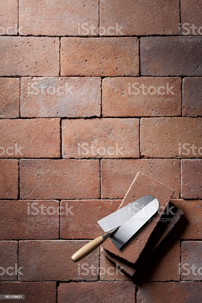 Build a house royalty-free stock photo