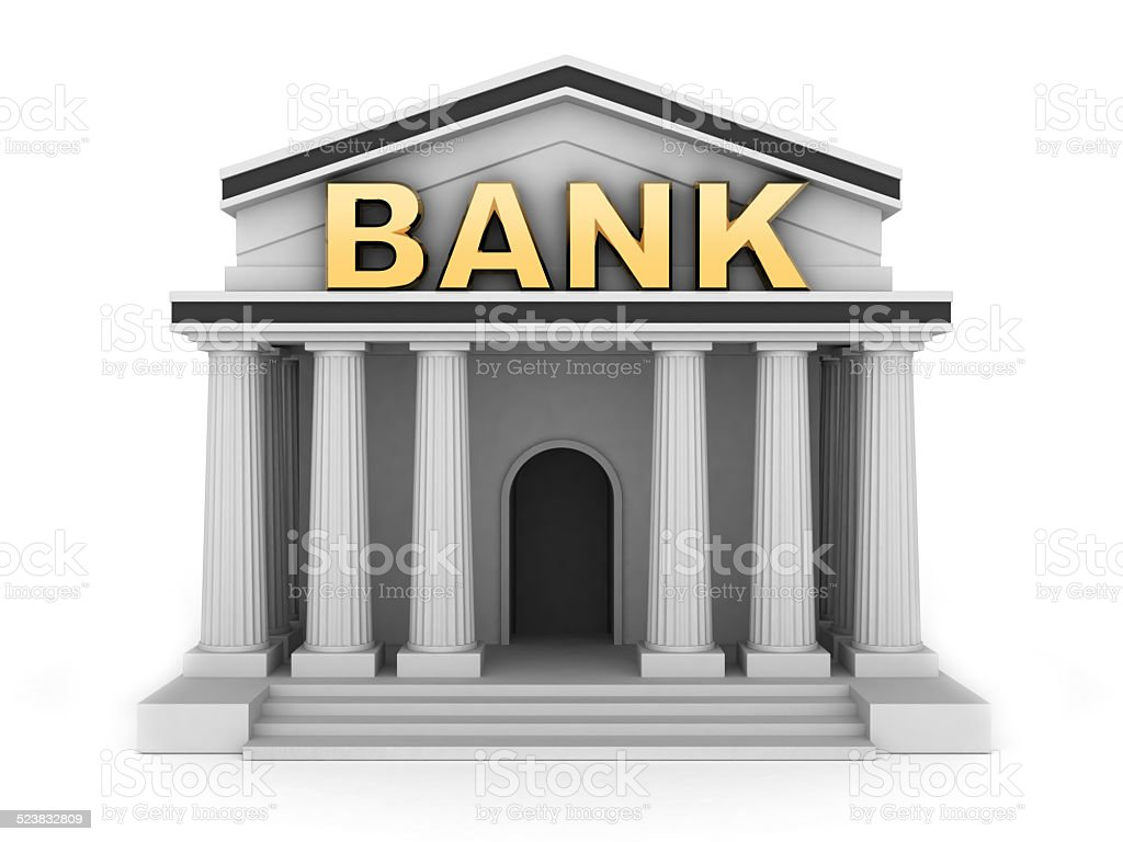 Build bank stock photo