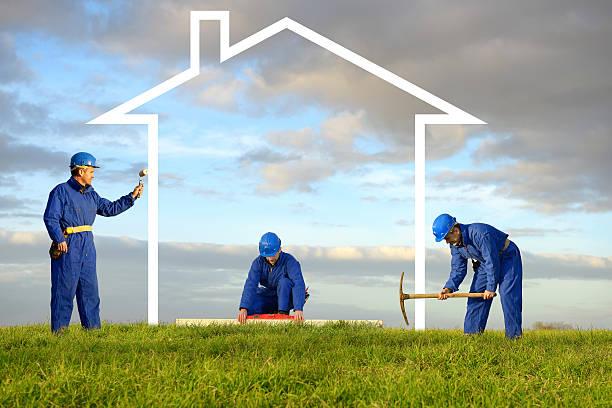 build house stock photo
