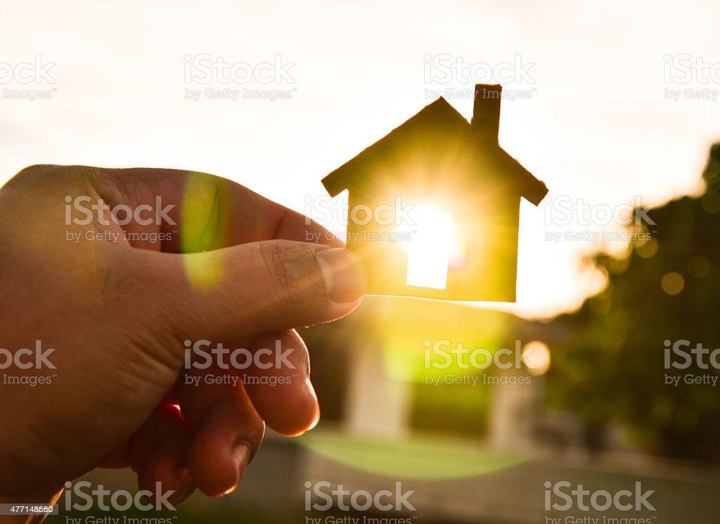Build my houses stock photo