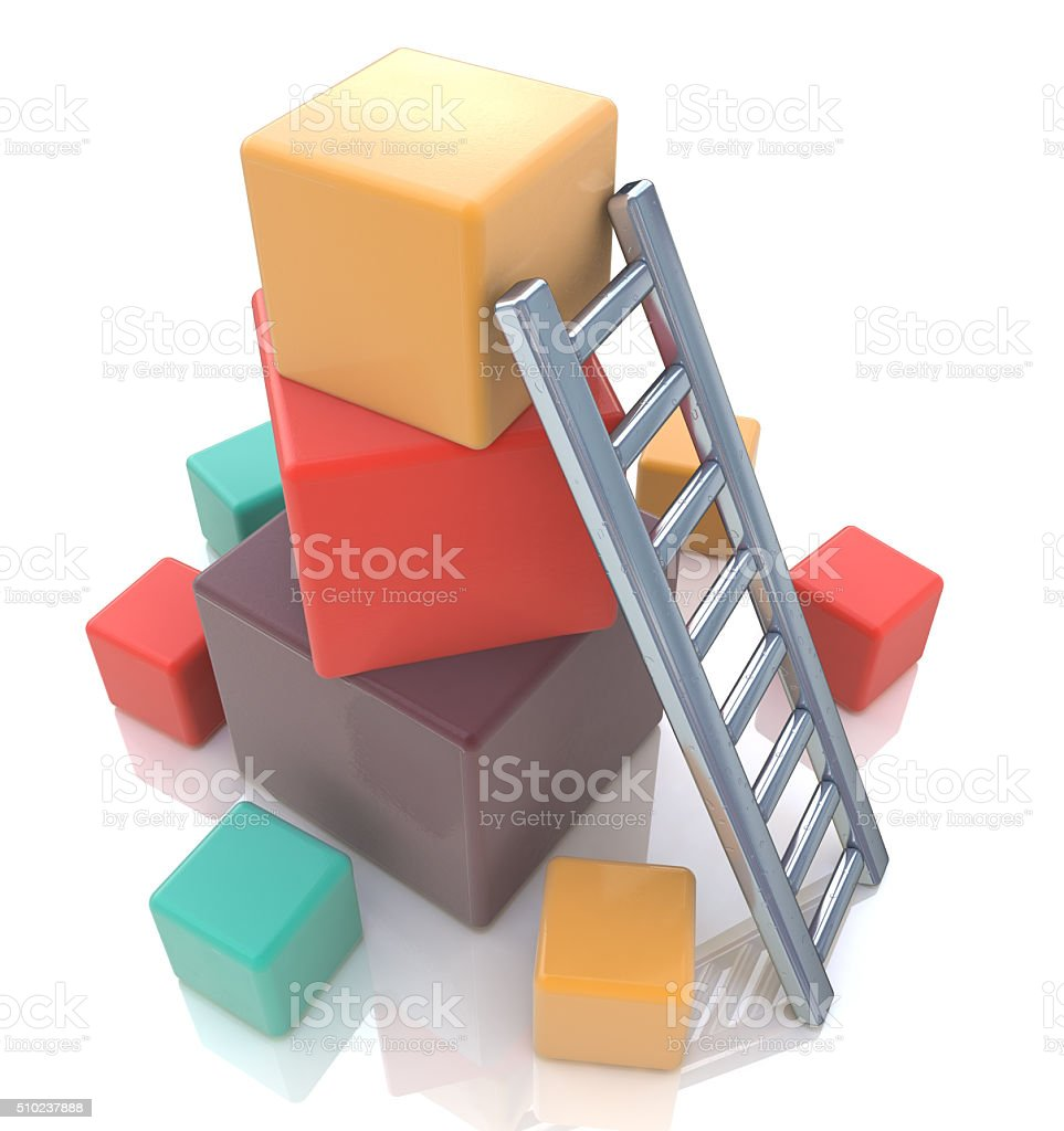 build up concept stock photo