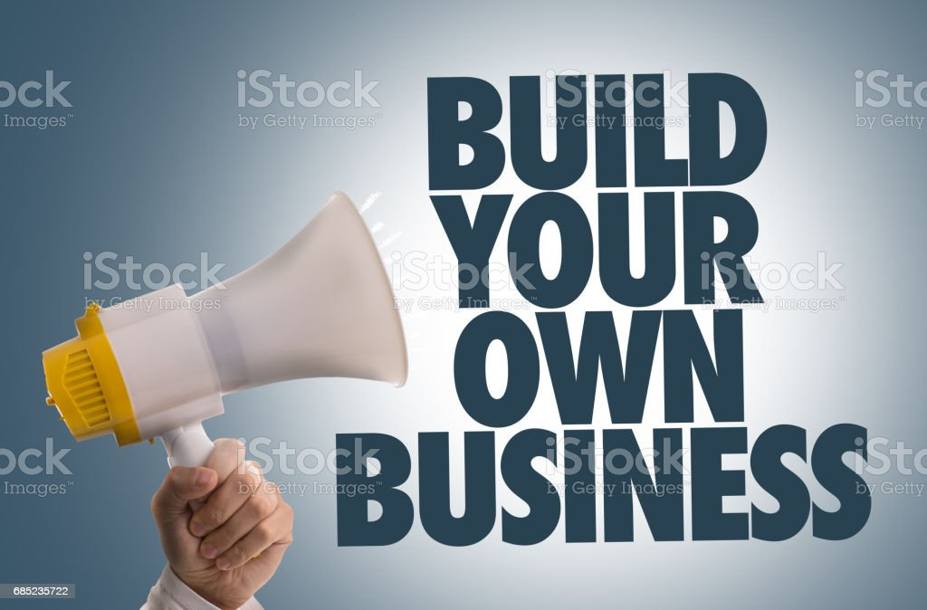 Build Your Own Business royalty-free stock photo