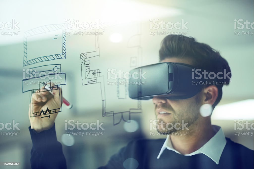 Build your own reality stock photo
