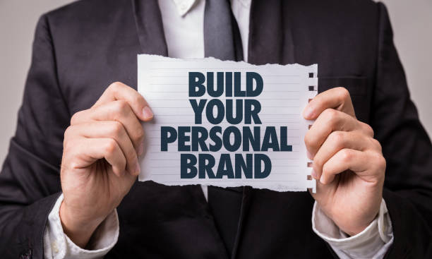 Build Your Personal Brand stock photo