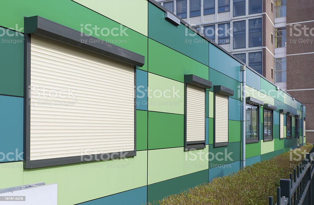 builder barracks royalty-free stock photo