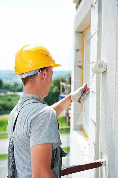 builder Fassade Maler Arbeiter – Foto