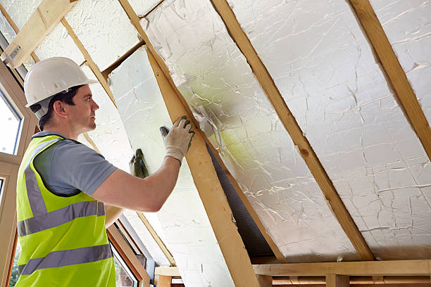 Generador de aislamiento de montaje en techo de nuevo hogar - foto de stock