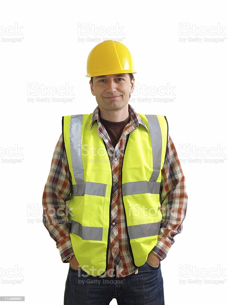 Builder royalty-free stock photo