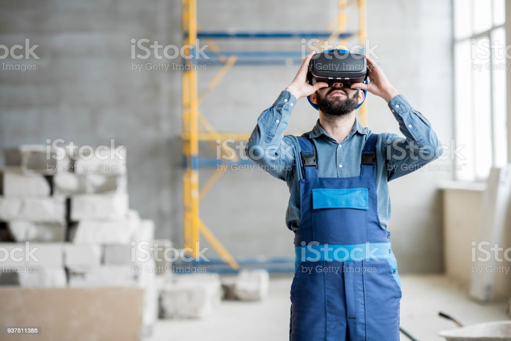 Builder Zusammenarbeit mit VR-Brillen – Foto