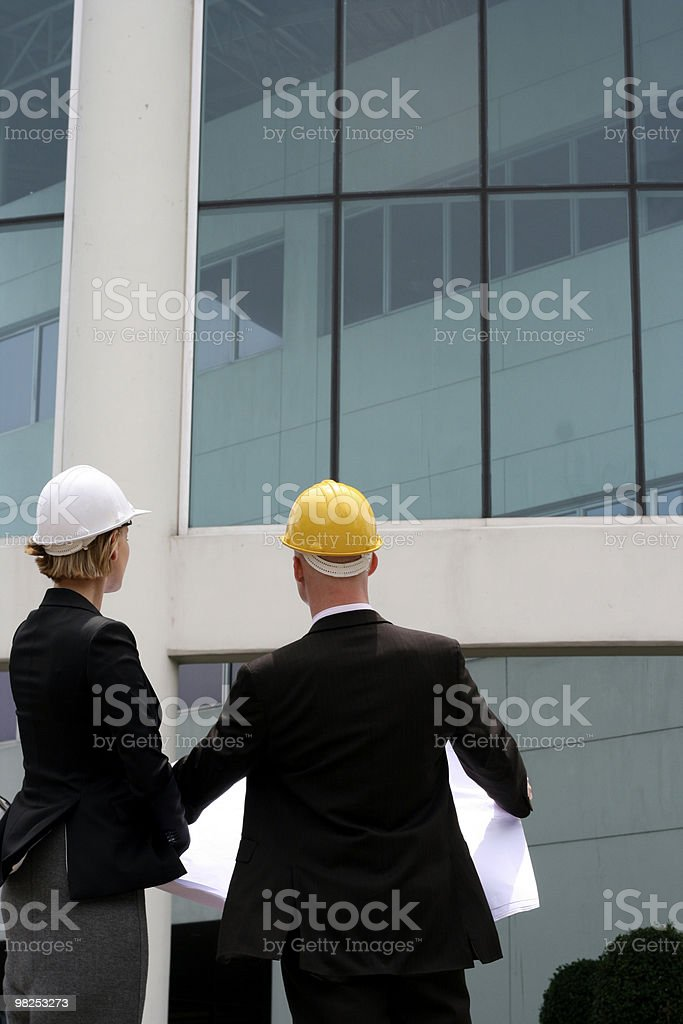 Builders royalty-free stock photo