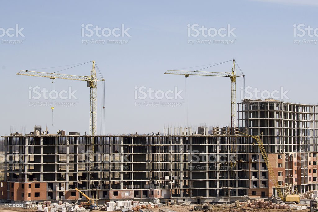 Building 4 royalty-free stock photo