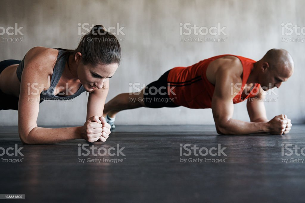 Building a belief system from commitment, motivation and perseverance stock photo