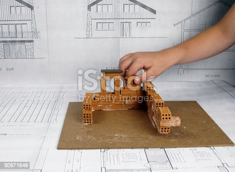 istock Building a home 92671646