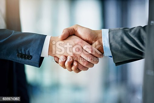 istock Building a network towards success 635974362