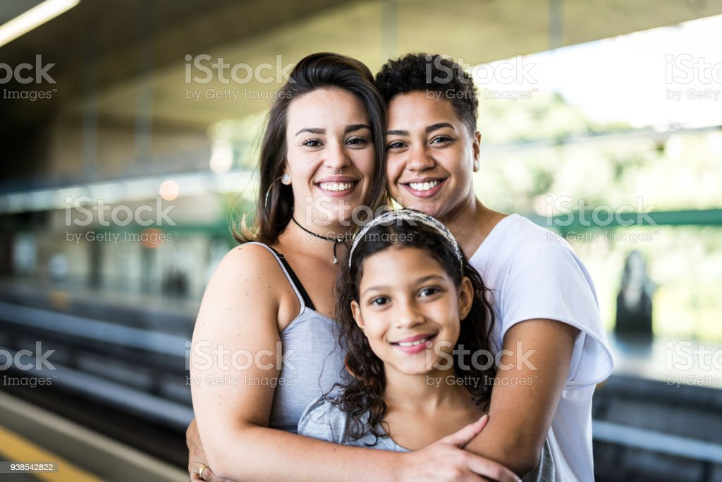 Building a New Family stock photo