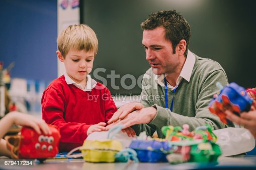 istock Building A Physics Project 679417234