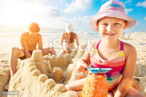 512726470 istock photo Building a sand castle 171148291