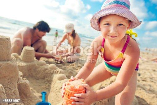 512726470 istock photo Building a sand castle 466331687