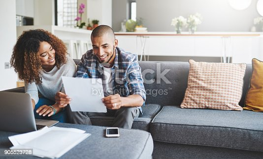 istock Building a tight household budget 905523728
