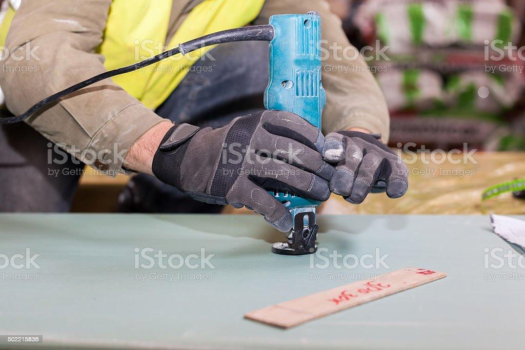 Aufbau Einer Wand Rahmenhaus - Stockfoto | iStock