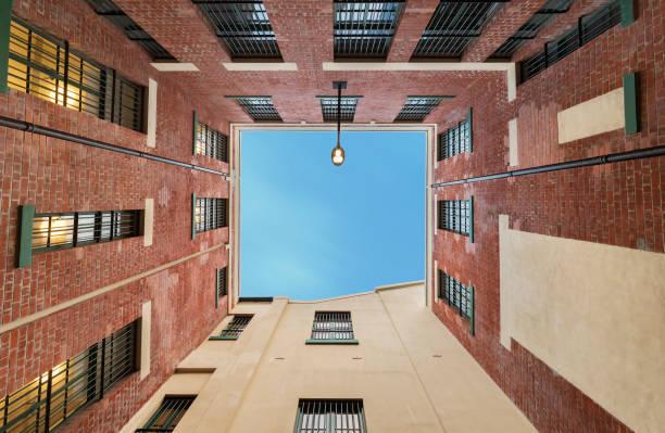 Gebäude-abstrakten Hintergrund-Muster – Foto