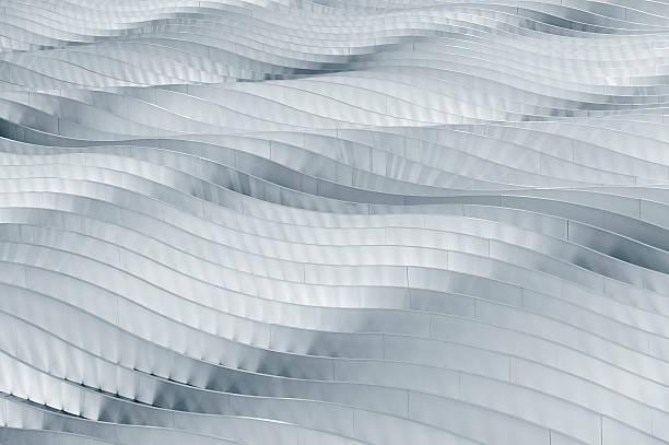 abstrakte gebäude - dachformen stock-fotos und bilder