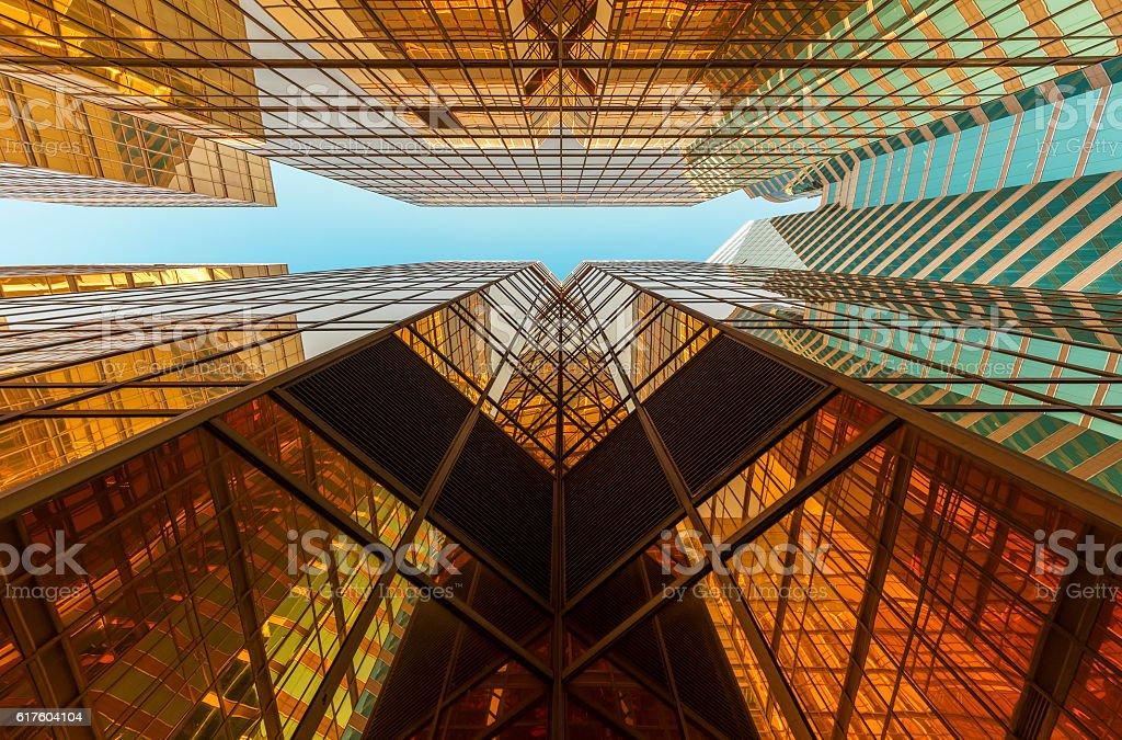 Abstrakte Gebäude  – Foto