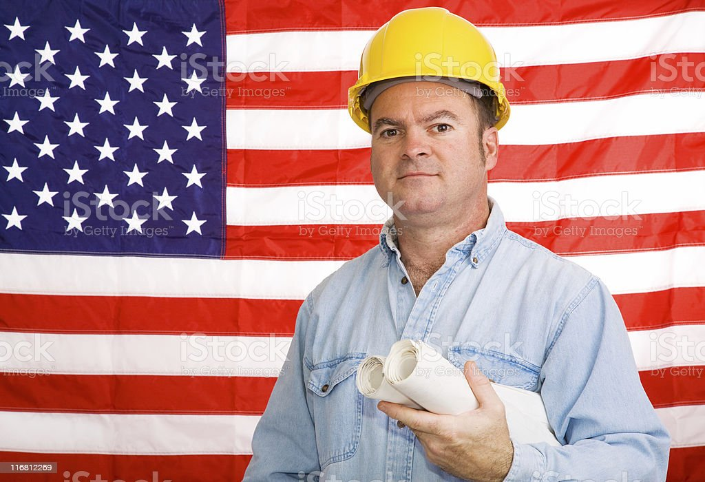 Building America royalty-free stock photo