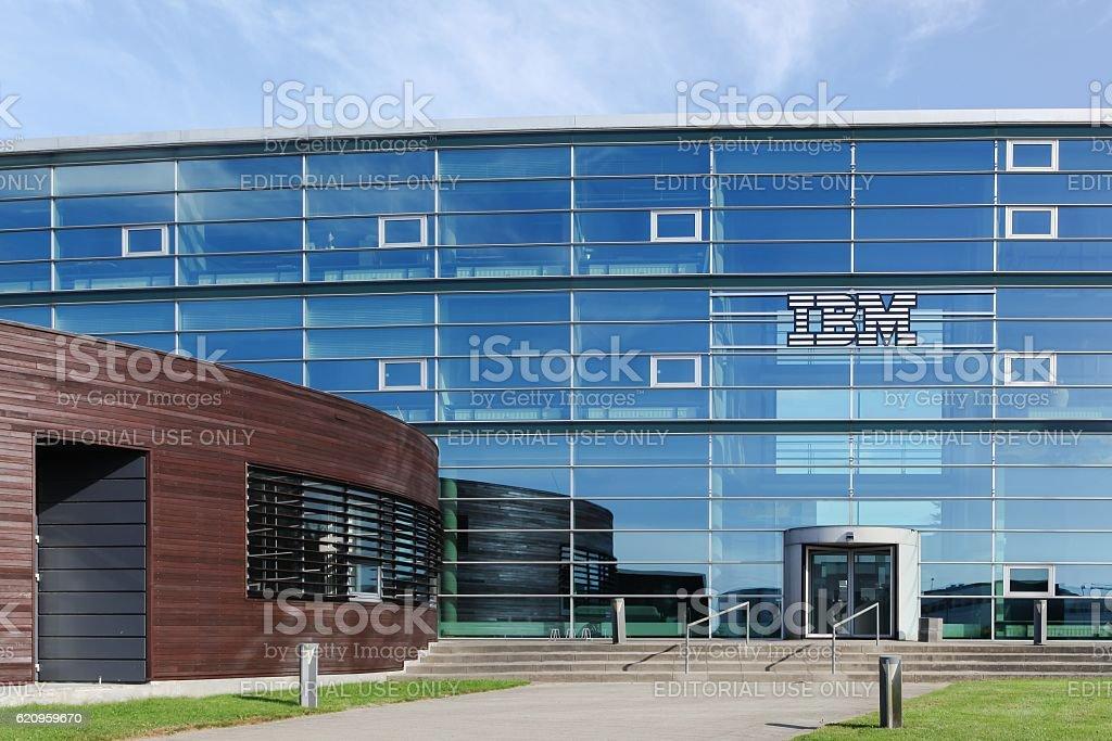 IBM building and office in Aarhus, Denmark stock photo