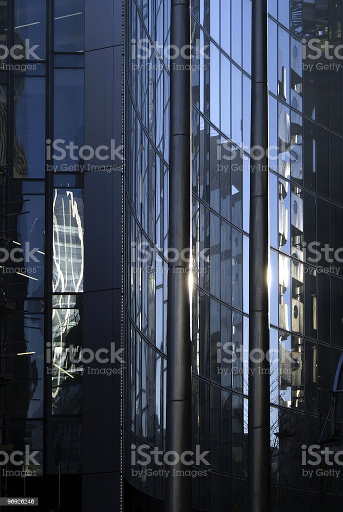 Building and pole royalty-free stock photo